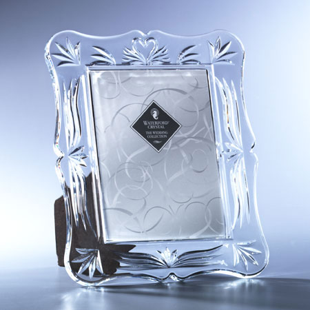 Waterford Crystal Wedding Heirloom 5x7 Picture Frame