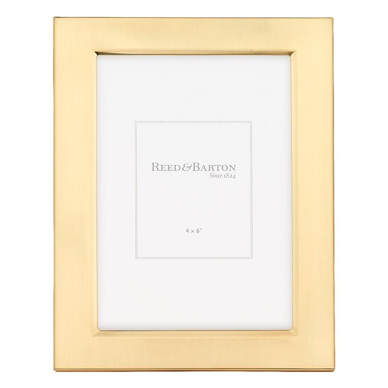 Reed & Barton Classic Gold 4x6 Frame