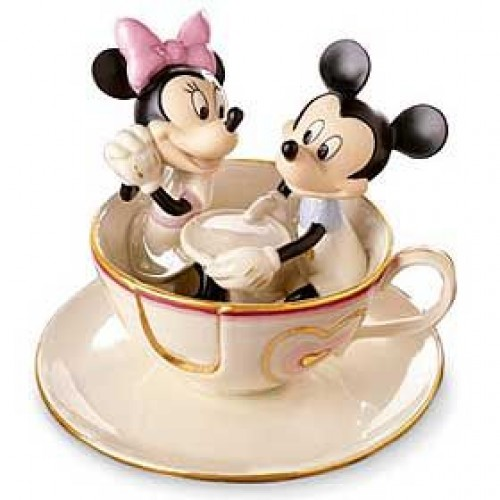Lenox Disney Mickey S Teacup Twirl Figurine
