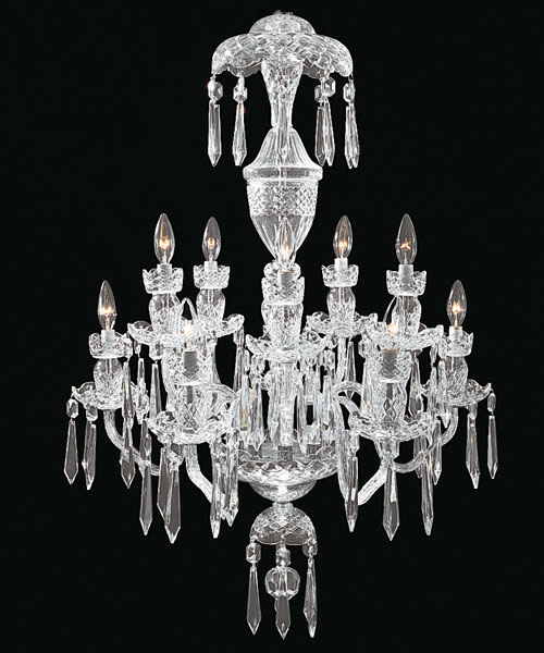 Waterford avoca 10 arm chandelier aloadofball Images