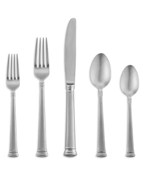 Lenox Eternal Frosted Stainless 5pc Place Setting