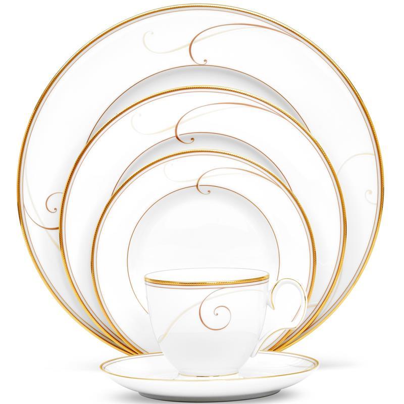 sc 1 st  Tableware Gallery & Noritake Golden Wave 40Pc China Set