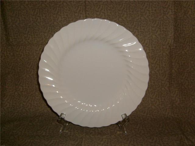 Sheffield China Bonewhite Earthenware 2 Dinnerplates