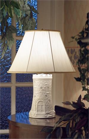 Belleek Castle Lamp