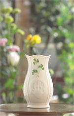 Belleek Shamrock Mini Gaelic Vase