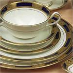 Aynsley Empress Cobalt China