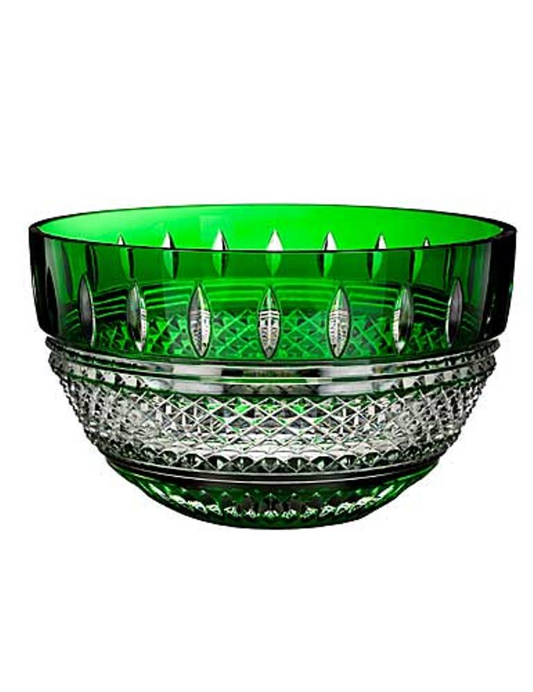 Waterford Irish Lace Emerald Bowl