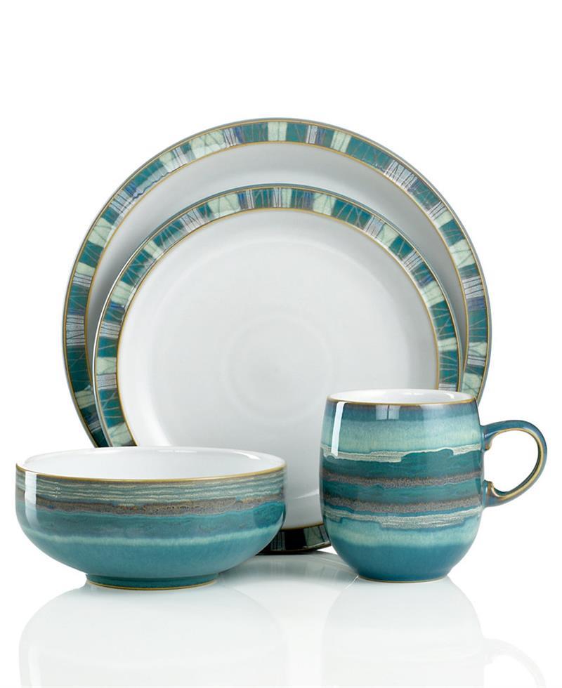 denby azure coast 32pc dinnerware set. Black Bedroom Furniture Sets. Home Design Ideas