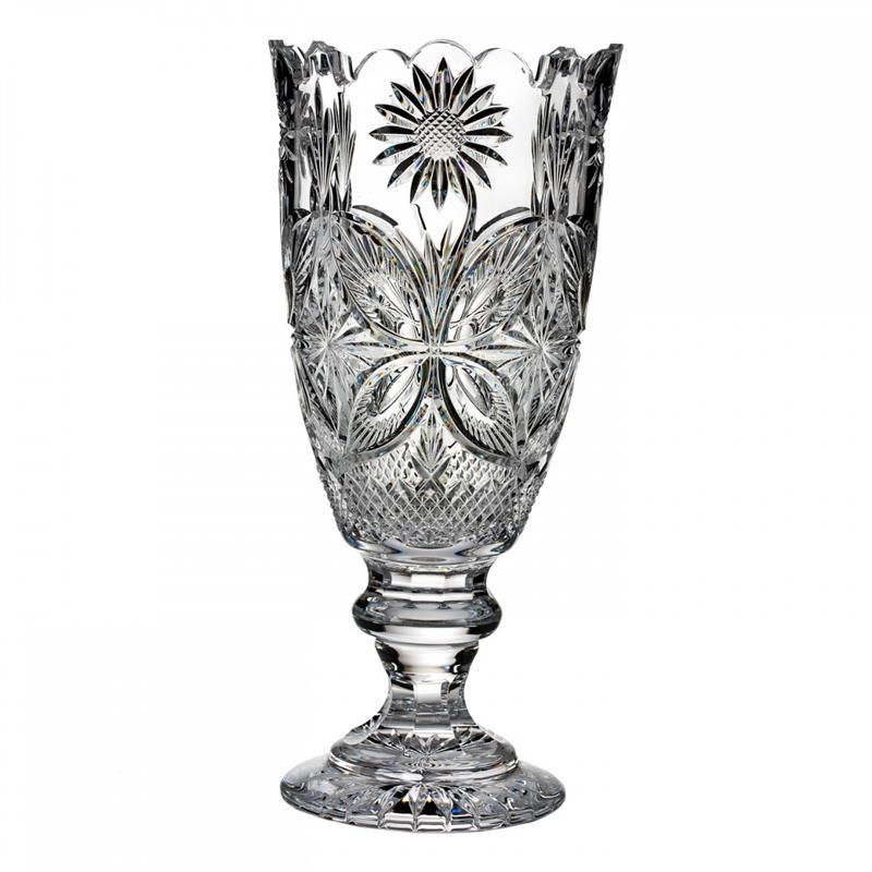 Waterford Flora Fauna Mt Congreve Vase