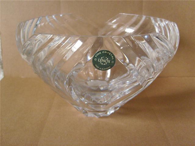 Lenox Crystal Kelly Pattern 1 Crystal Round Bowl