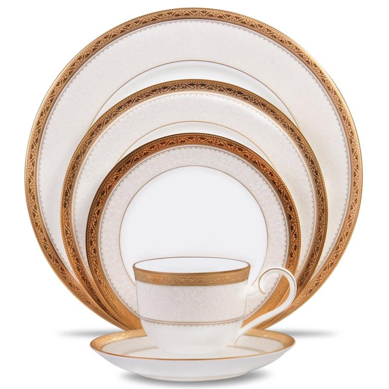 Noritake Odessa Gold 60pc China Set