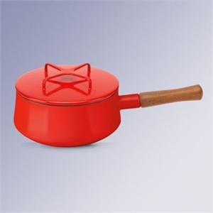 Dansk Kobenstyle Chili Red 2 Quart Saucepan
