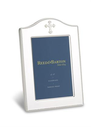 Reed Barton Abbey 4x6 Silverplate Frame