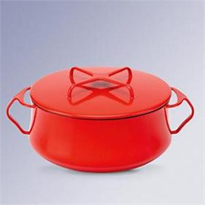 Dansk Kobenstyle Chili Red 4 Quart Casserole