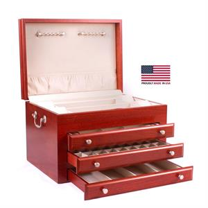 American Chest Majestic Cherry Jewelry Chest