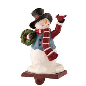 Aynsley Tophat Snowman Stocking Holder