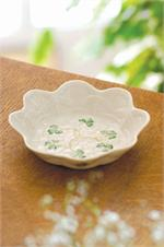 Belleek Shamrock Sweet Dish