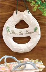 Belleek House Blessing Wreath