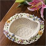 Belleek Spring Flower Basket