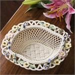 Belleek Summer Flower Basket